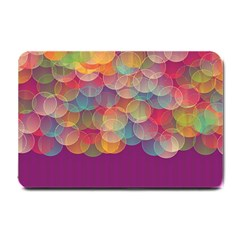 Background Circles Abstract Small Doormat