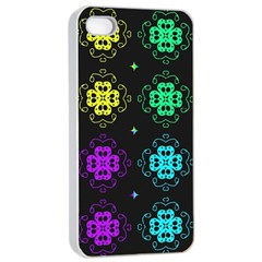 Seamless Pattern Design Ornament Iphone 4/4s Seamless Case (white)