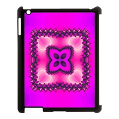 Kaleidoscope Ornament Pattern Apple Ipad 3/4 Case (black)