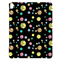 Summer Pattern Design Colorful Apple Ipad Pro 12 9   Black Uv Print Case