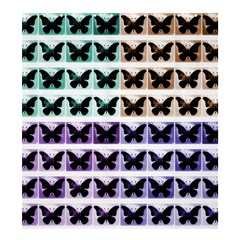 Seamless Wallpaper Butterfly Pattern Shower Curtain 66  X 72  (large)