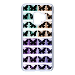 Seamless Wallpaper Butterfly Pattern Samsung Galaxy S9 Seamless Case(white) by Pakrebo