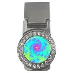 Spiral Fractal Abstract Pattern Money Clips (cz)