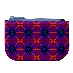 Seamless Wallpaper Pattern Ornament Large Coin Purse