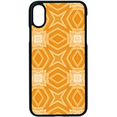 Seamless Pattern Ornament Design Iphone X Seamless Case (black)