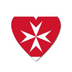 Civil Ensign Of Malta Heart Magnet by abbeyz71