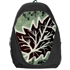 Drawing Autumn Leaves Season Backpack Bag by Pakrebo