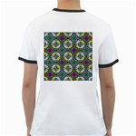 Seamless Pattern Decoration Ringer T Back
