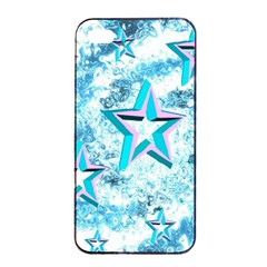 Stars Background Star Shiny Iphone 4/4s Seamless Case (black)