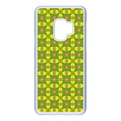 Seamless Wallpaper Pattern Ornament Samsung Galaxy S9 Seamless Case(white)