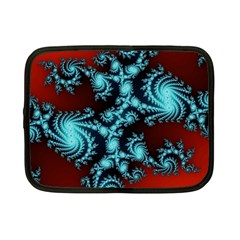 Fractal Spiral Abstract Pattern Art Netbook Case (small)