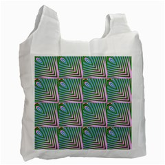 Seamless Pattern Ornament Design Recycle Bag (one Side) by Pakrebo