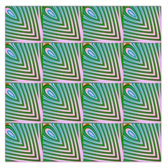 Seamless Pattern Ornament Design Large Satin Scarf (square)