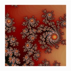 Fractal Rendering Pattern Abstract Medium Glasses Cloth (2 Sides)