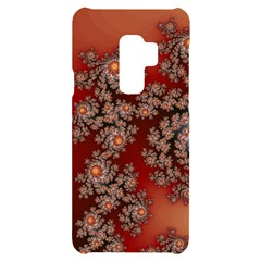 Fractal Rendering Pattern Abstract Samsung S9 Plus Black Uv Print Case by Pakrebo