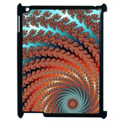 Fractal Spiral Abstract Design Apple Ipad 2 Case (black)