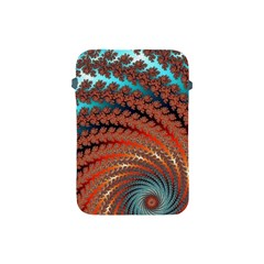 Fractal Spiral Abstract Design Apple Ipad Mini Protective Soft Cases
