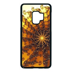 Background Colorful Graphic Design Samsung Galaxy S9 Seamless Case(black)