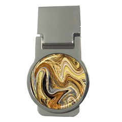 Abstract Acrylic Art Artwork Money Clips (round)