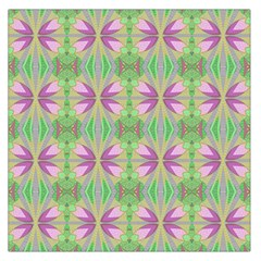 Seamless Wallpaper Pattern Ornament Pattern Art Large Satin Scarf (square)