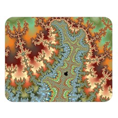 Fractal Rendering Pattern Abstract Double Sided Flano Blanket (large)