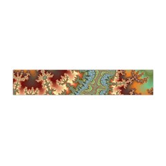 Fractal Rendering Pattern Abstract Flano Scarf (mini) by Pakrebo