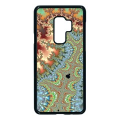 Fractal Rendering Pattern Abstract Samsung Galaxy S9 Plus Seamless Case(black) by Pakrebo