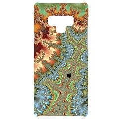 Fractal Rendering Pattern Abstract Samsung Note 9 Black Uv Print Case