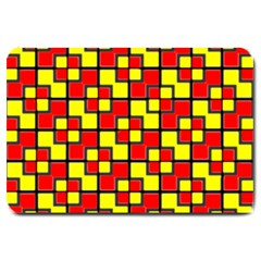 Rby-2-2 Large Doormat  by ArtworkByPatrick