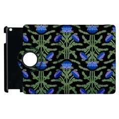 Pattern Thistle Structure Texture Apple Ipad 3/4 Flip 360 Case