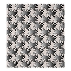 Seamless Tessellation Background Shower Curtain 66  X 72  (large)  by Pakrebo