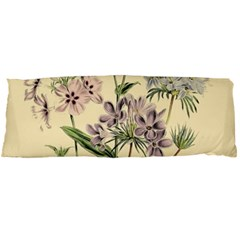 Botanical Print Antique Flora Plant Body Pillow Case Dakimakura (two Sides)
