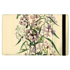 Botanical Print Antique Natural Apple Ipad 3/4 Flip Case by Pakrebo