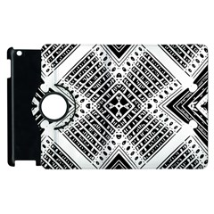 Pattern Tile Repeating Geometric Apple Ipad 2 Flip 360 Case