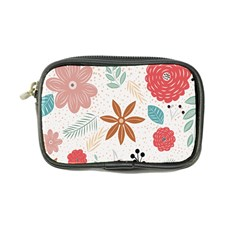 Nature Shape Leaves Flowers Art Coin Purse