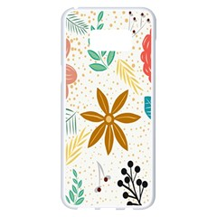 Design Nature Color Banner Modern Samsung Galaxy S8 Plus White Seamless Case