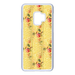 Pattern Backgrounds And Textures Samsung Galaxy S9 Seamless Case(white)