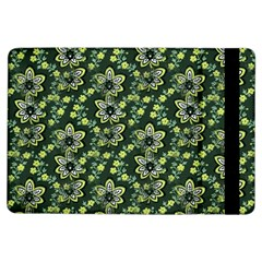 Abstract Pattern Flower Leaf Ipad Air Flip