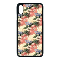 Flower Floral Decoration Pattern Iphone Xs Max Seamless Case (black) by Pakrebo