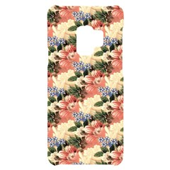 Flower Floral Decoration Pattern Samsung S9 Black Uv Print Case