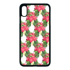 Floral Seamless Decorative Spring Iphone Xs Max Seamless Case (black) by Pakrebo
