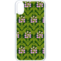 Pattern Nature Texture Heather Iphone Xs Seamless Case (white)