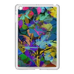 Flowers Abstract Branches Apple Ipad Mini Case (white)