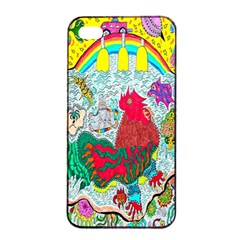 Supersonic Key West Gypsy Blast Iphone 4/4s Seamless Case (black) by chellerayartisans