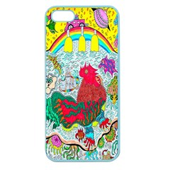 Supersonic Key West Gypsy Blast Apple Seamless Iphone 5 Case (color) by chellerayartisans
