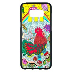 Supersonic Key West Gypsy Blast Samsung Galaxy S8 Plus Black Seamless Case