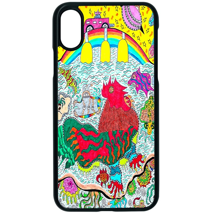 Supersonic Key West Gypsy Blast iPhone XS Seamless Case (Black)