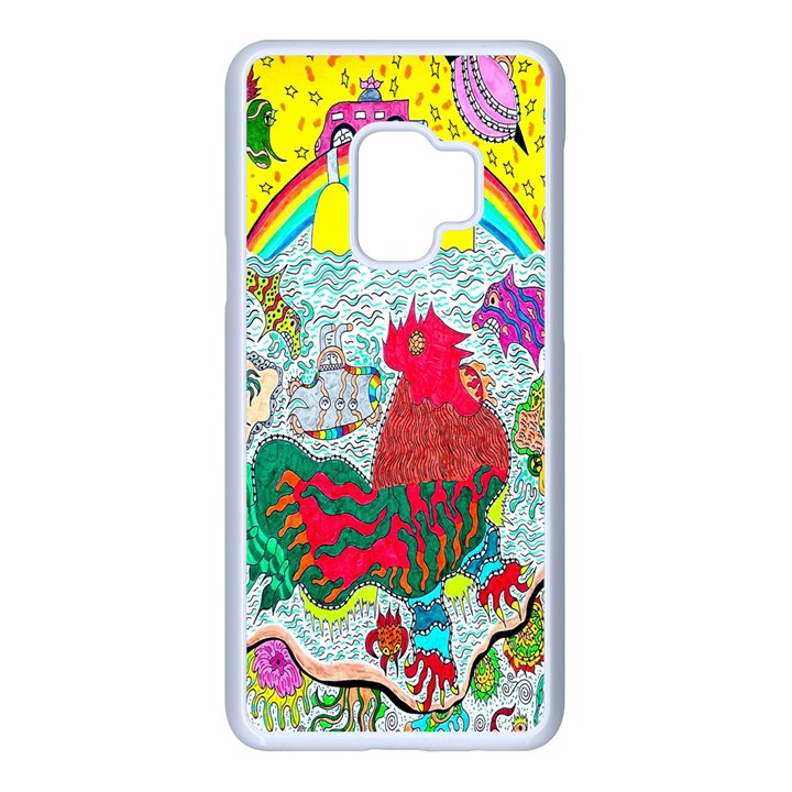 Supersonic Key West Gypsy Blast Samsung Galaxy S9 Seamless Case(White)