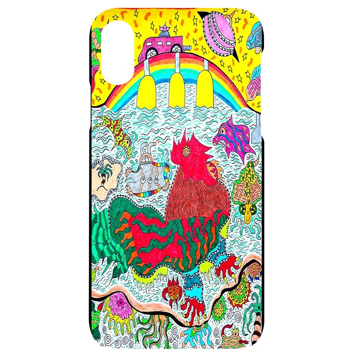 Supersonic Key West Gypsy Blast iPhone XR Black UV Print Case
