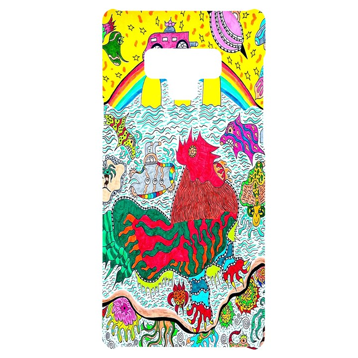 Supersonic Key West Gypsy Blast Samsung Note 9 Black UV Print Case